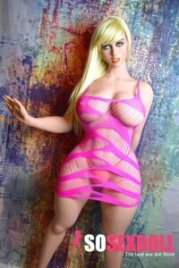 WM Doll Blond European Wife BBW Love Doll