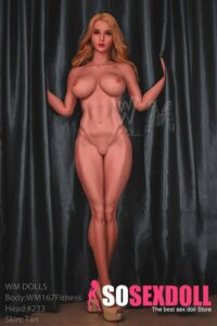 WM Dolls Fitness Full Body Real Love Doll