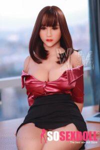 WM Japanese BBW Sex Doll Black Hair