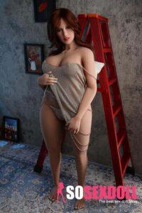 BBW huge breast sex doll