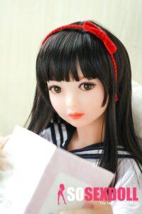 Flat Chested Sex Doll Mini Love Doll